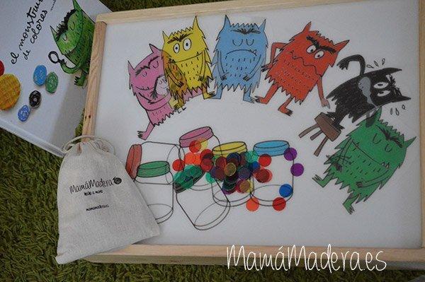Jugamos con el monstruo de los colores y la Caja de Luz 2