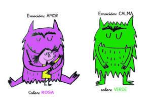Jugamos con el monstruo de los colores y la Caja de Luz 9