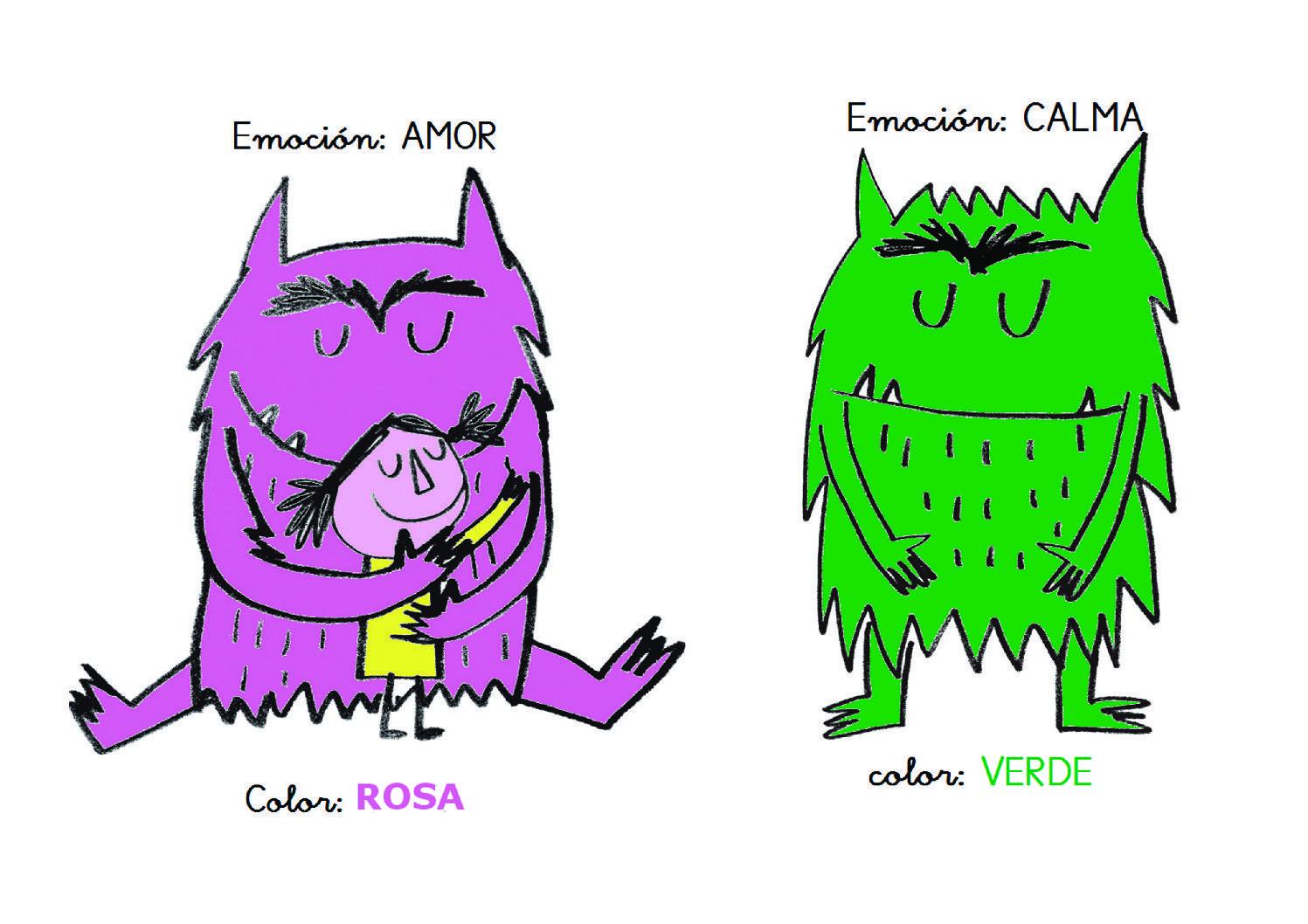 Jugamos con el monstruo de los colores y la Caja de Luz 28