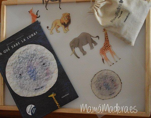 """Hoy leemos y jugamos """"A qué sabe la luna"""" 2"""