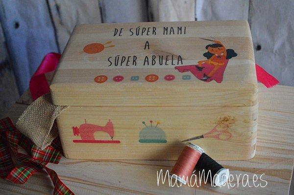 Caja de madera personalizada 8