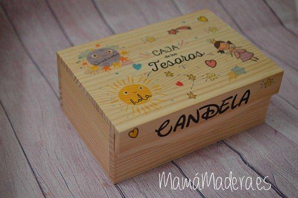 Caja de madera personalizada 5