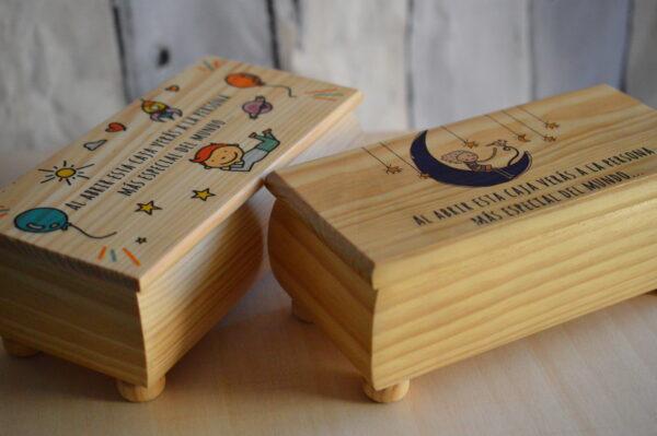 Caja de madera personalizada 2