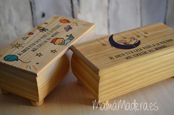 Caja de madera personalizada 6