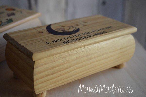 Caja de madera personalizada 3
