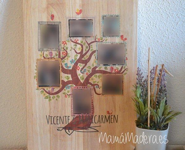 Lámina personalizada de madera Momento Especiales 11