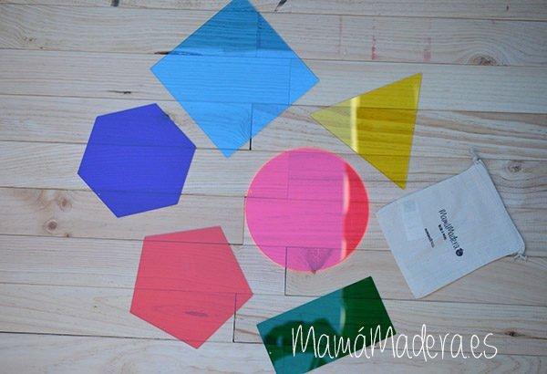 Formas geométricas de acrílico 1