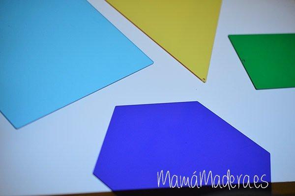 Formas geométricas de acrílico 2