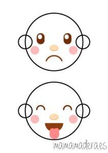 Caras de emociones para descargar 7