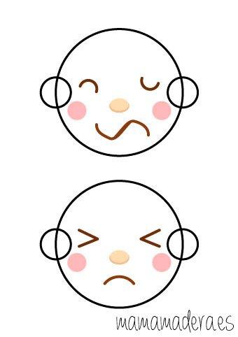 Caras de emociones para descargar 8