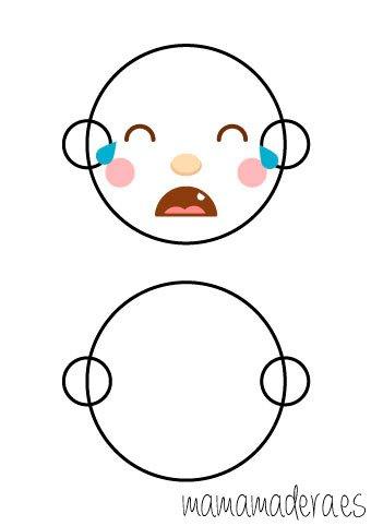 Caras de emociones para descargar 9