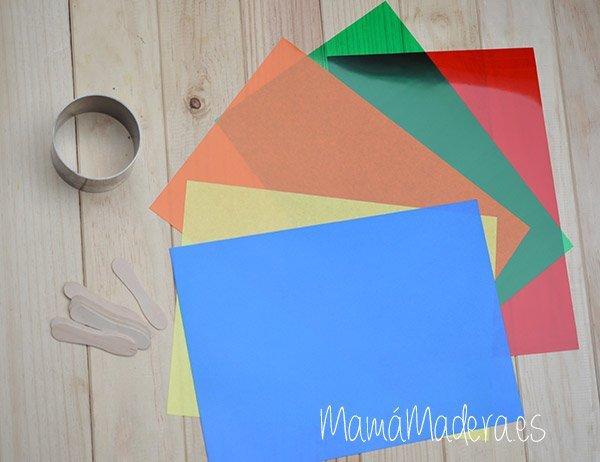 Palas de colores DYI 3