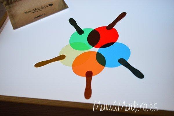 Palas de colores DYI 15