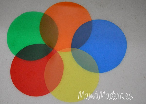 Palas de colores DYI 5