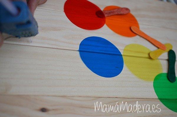 Palas de colores DYI 11