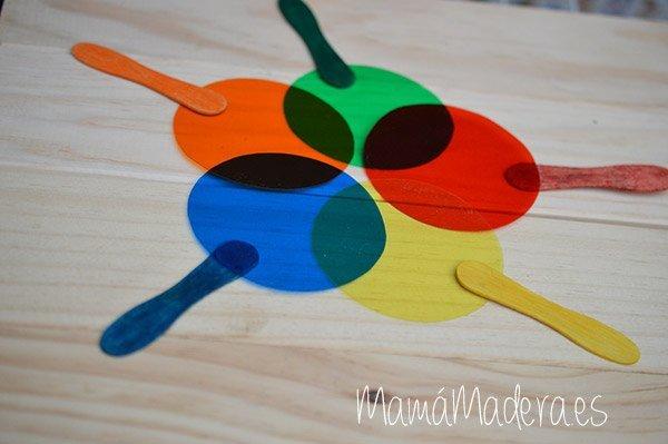 Palas de colores DYI 12