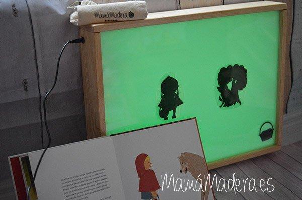 DIY Teatro de Sombras con Caja de Luz 5