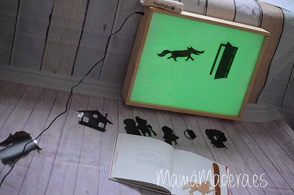 DIY Teatro de Sombras con Caja de Luz 6