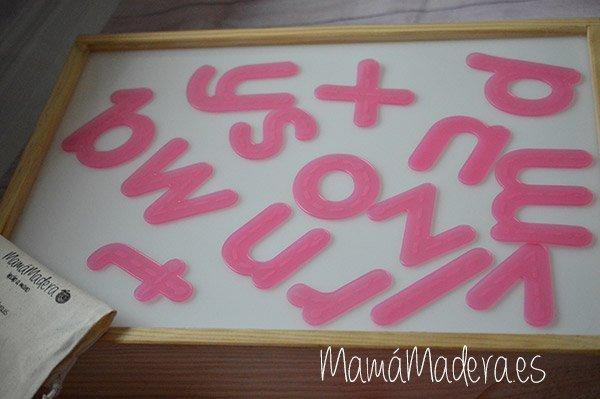 Letras Alfabeto Rosas 4