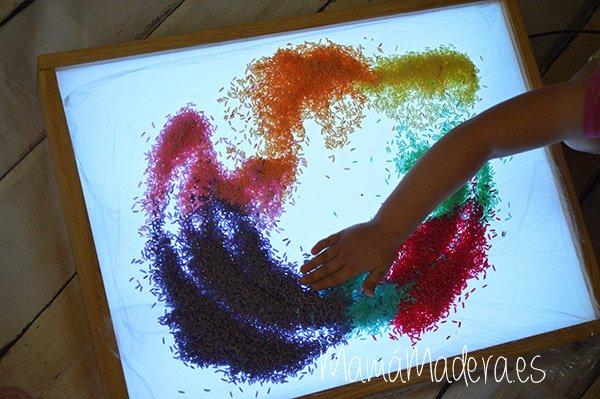 DIY Arroz de colores 18