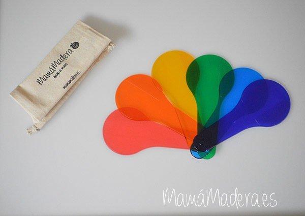 Paletas translúcidas de colores 1