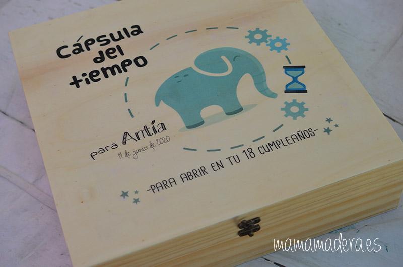 Caja de madera personalizada tamaño grande 5