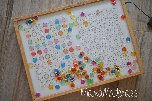 Nuevas posibilidades para las fichas de colores y la caja de luz 26
