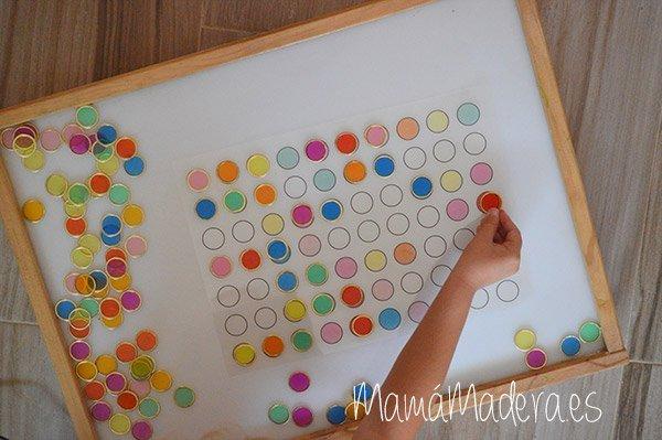 Nuevas posibilidades para las fichas de colores y la caja de luz 29
