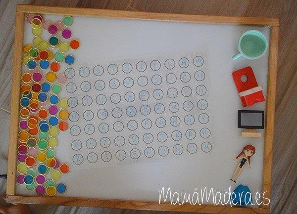 Nuevas posibilidades para las fichas de colores y la caja de luz 32