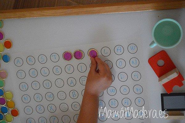 Nuevas posibilidades para las fichas de colores y la caja de luz 33