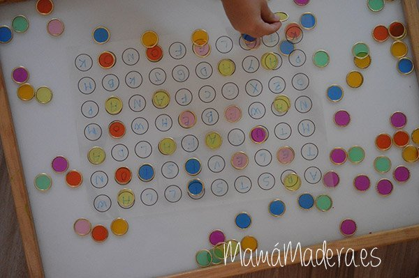 Nuevas posibilidades para las fichas de colores y la caja de luz 30