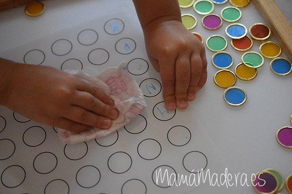 Nuevas posibilidades para las fichas de colores y la caja de luz 35