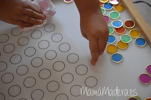 Nuevas posibilidades para las fichas de colores y la caja de luz 36