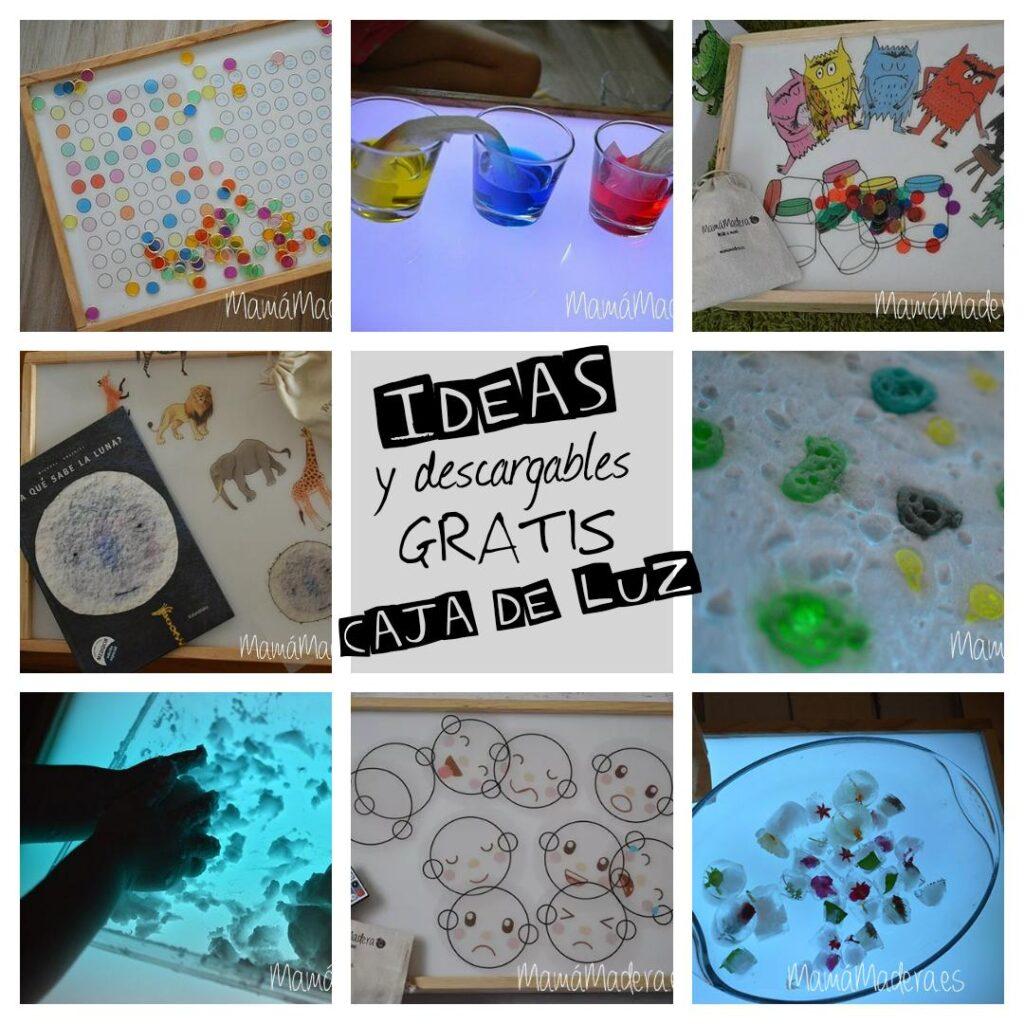 Más de 10 ideas y descargables gratis para la caja de luz 2