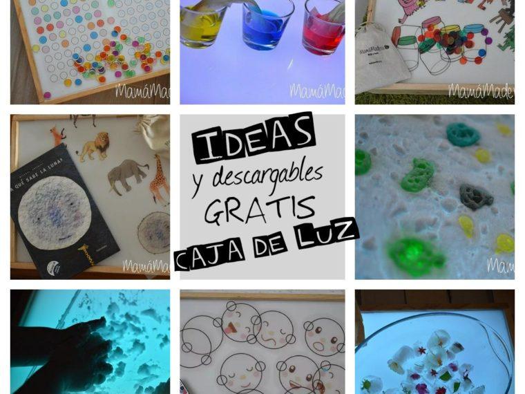 Más de 10 ideas y descargables gratis para la caja de luz