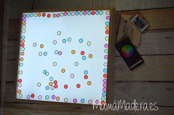 Caja de Luz Rítmica con WIFI 7
