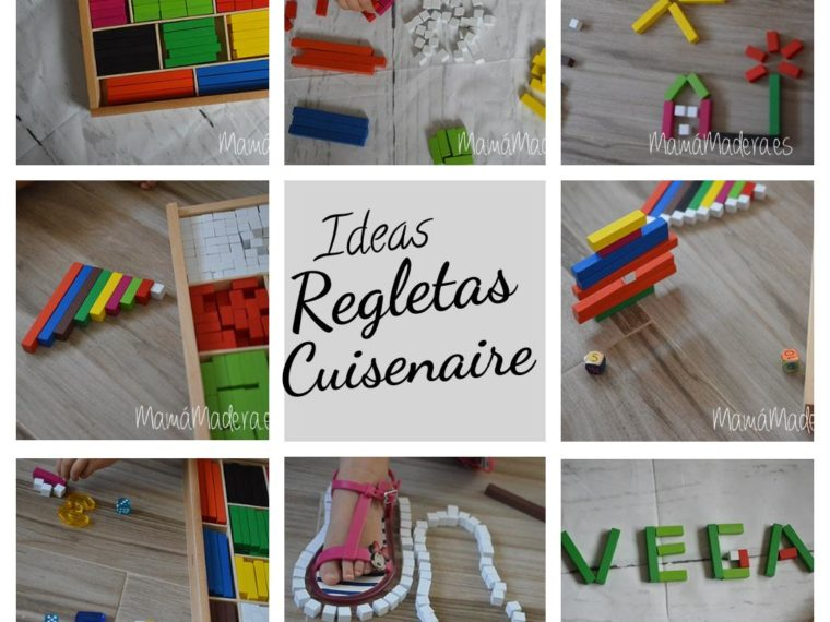 Regletas de Cuisenaire o Matemáticas para tocar y aprender jugando