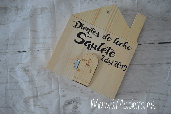 Casa-caja dientes del Ratón Pérez 1
