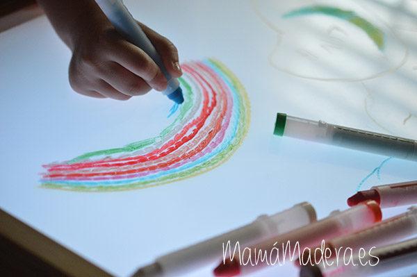 Caja de ceras de colores no tóxicas 1
