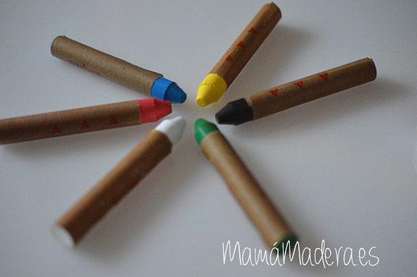 Caja de ceras de colores no tóxicas 5