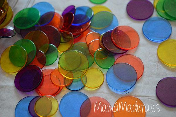 500 Círculos de Colores Translúcidos 2
