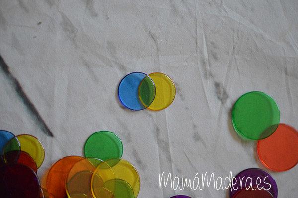 500 Círculos de Colores Translúcidos 4
