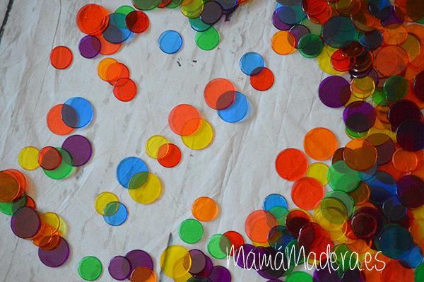 500 Círculos de Colores Translúcidos 1