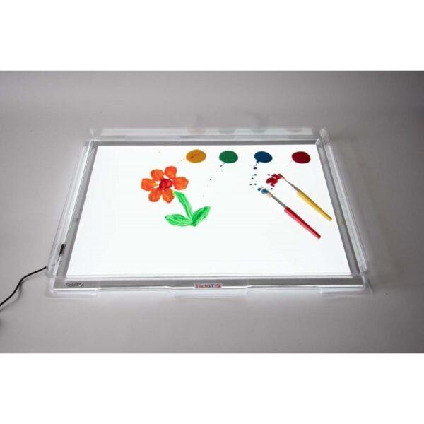 Bandeja sensorial y para mesas de luz A3 5