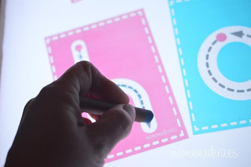 Letras minúsculas para trazar 15