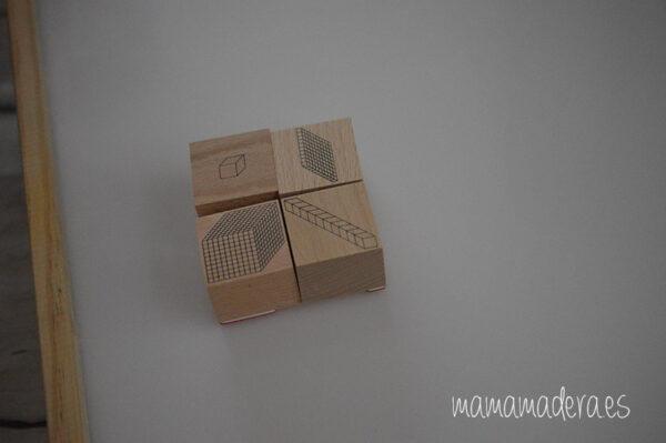 Sellos de descomposición numérica base 10 1