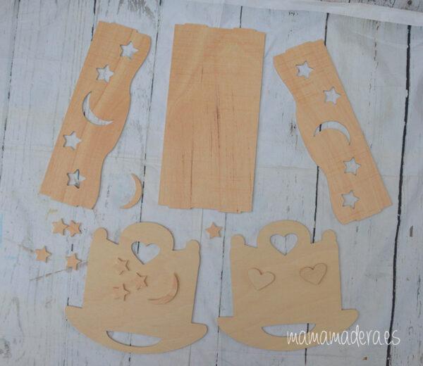 Cuna balancín madera 8