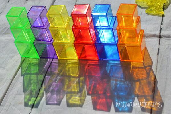 Kit de 498 piezas translúcidas 2