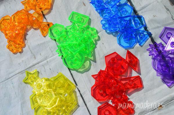 Kit de 498 piezas translúcidas 3