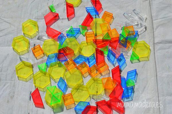 Kit de 498 piezas translúcidas 4